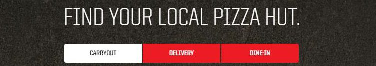 Pizza Hut Carryout, Delivery or Dine-In