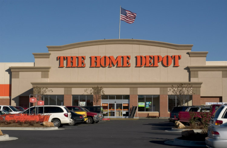 home depot locations