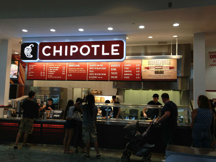 chipotle restaurants nearby
