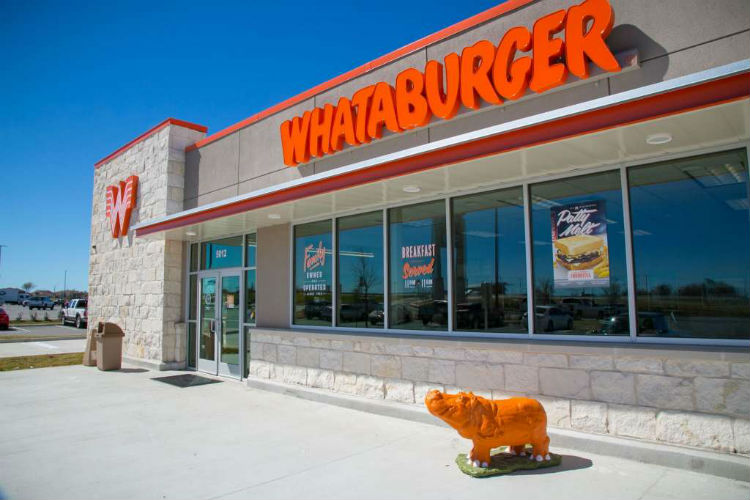 Home of the bigger, better burger. Whataburger uses % pure American beef served on a big, toasted five-inch bun. More than Whataburgers across the country.