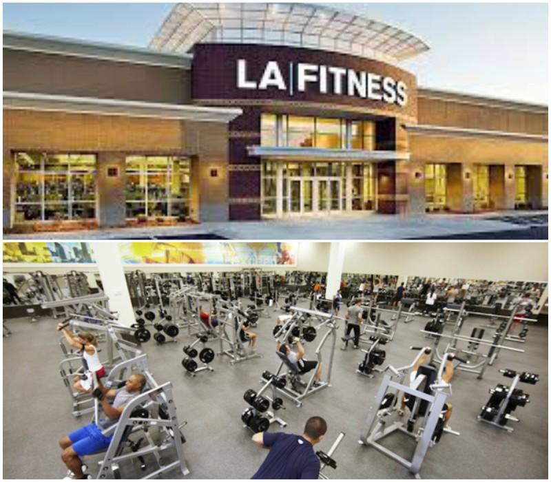 LA Fitness Gyms Near Me