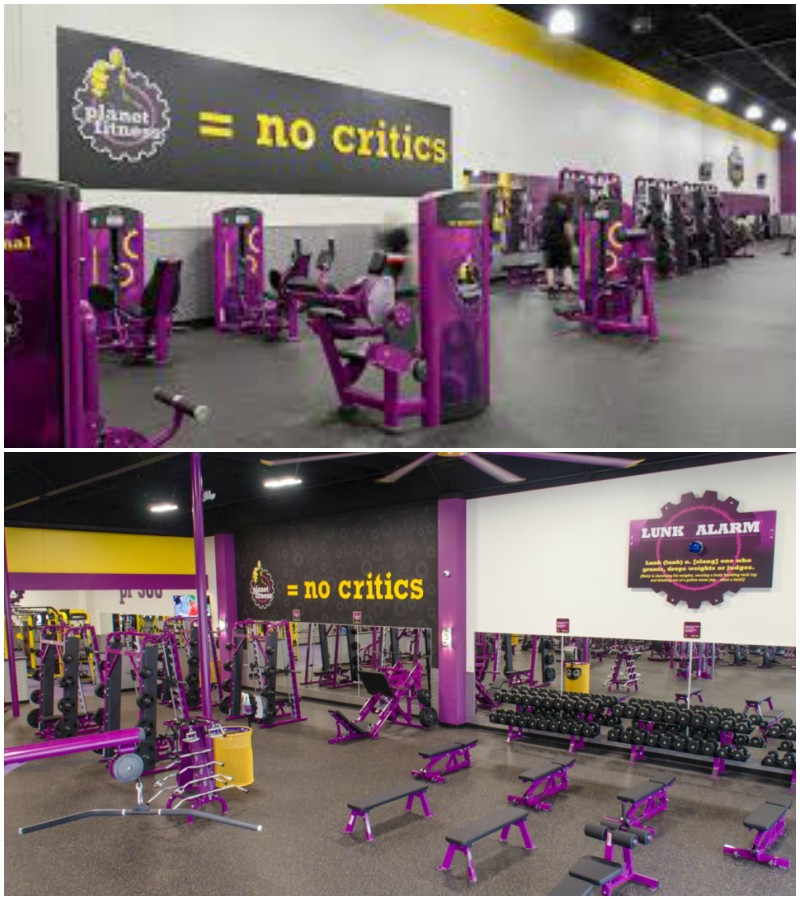 Planet fitness near me