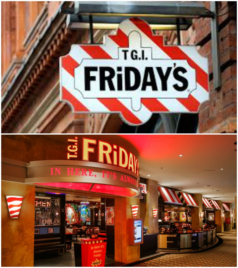 TGI Fridays Restaurants Near Me