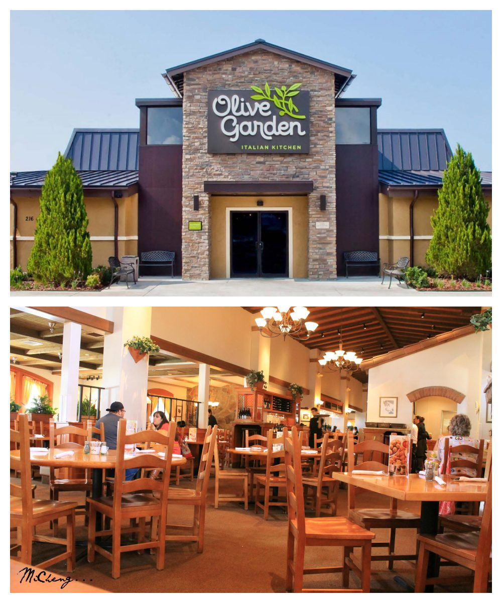 Olive Garden Restaurants Near Me