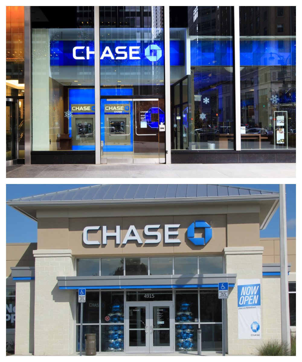 ok google closest chase bank to me