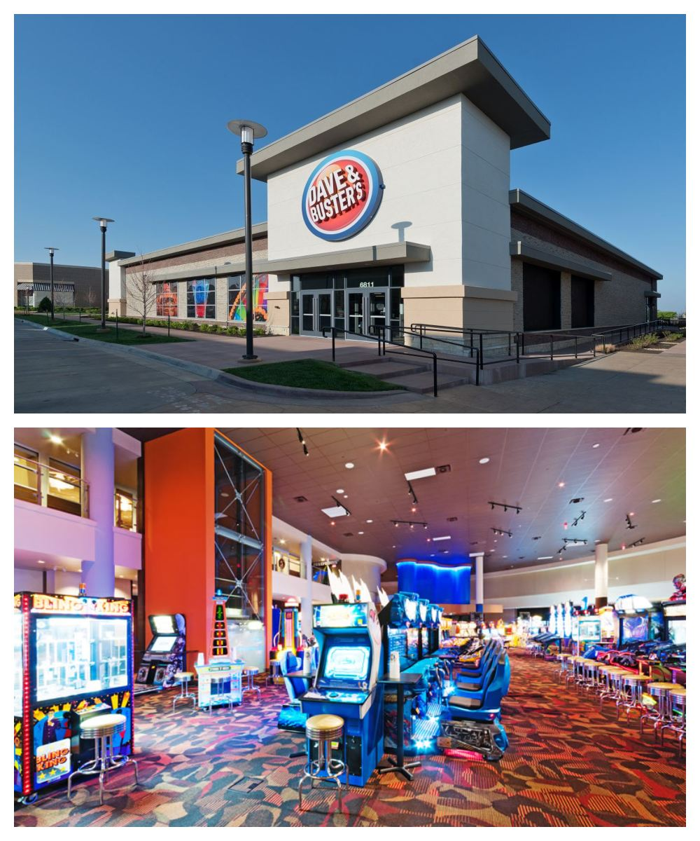 Dave and Busters Restaurants Near Me