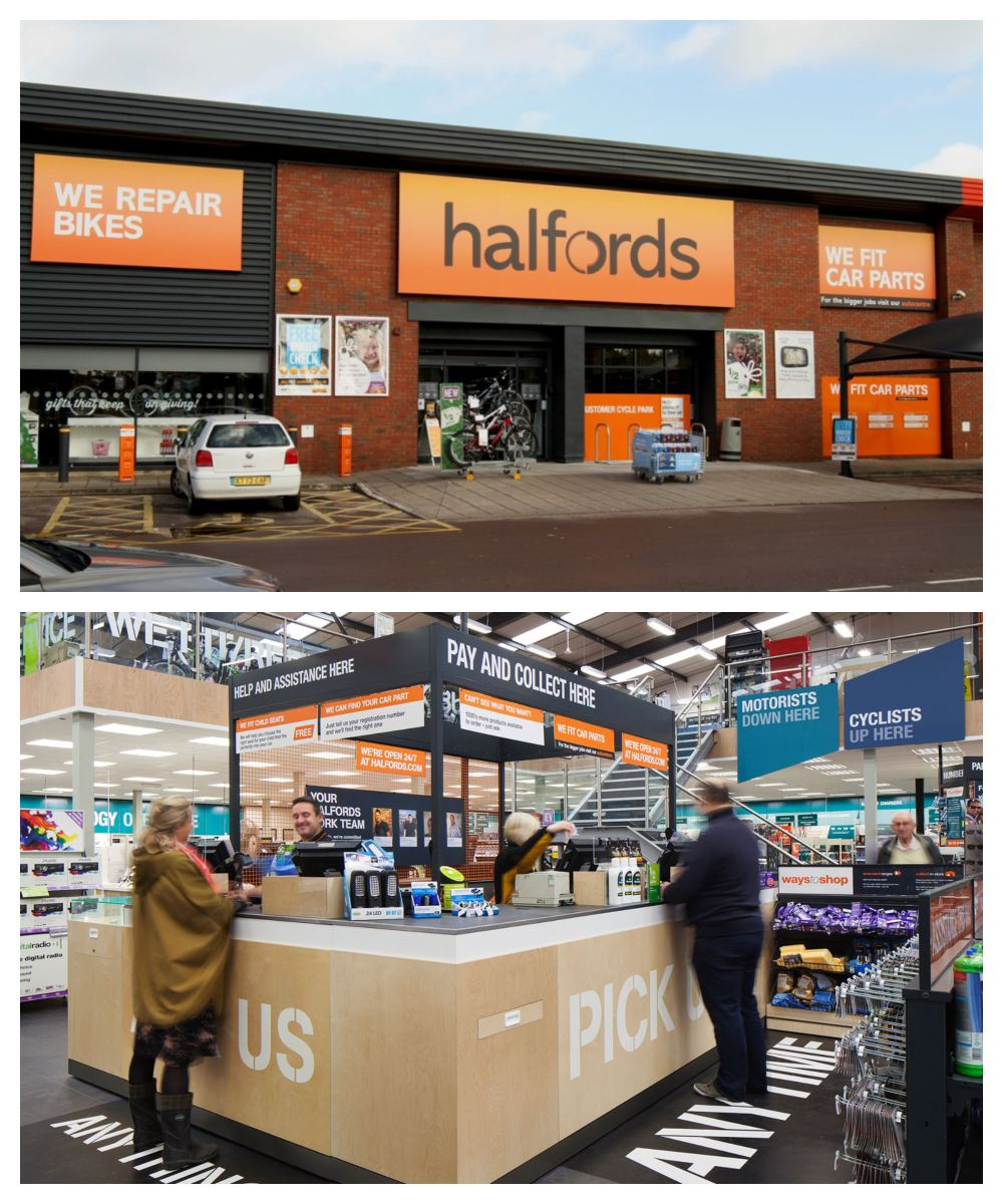 Halfords Stores Near Me